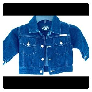 Baby Roots denim Jean Jacket